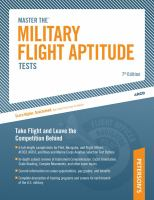 Peterson's Master Military Flight Aptitude Tests