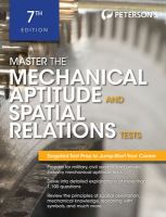 Master the Mechanical Aptitude and Spatial Relations Tests
