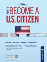 How to Become A U.S. Citizen
