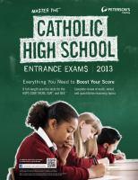 Master the Catholic High School Entrance Exams 2013