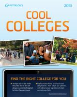 Cool Colleges [2013]