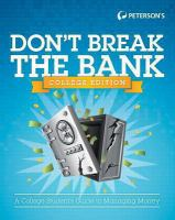 Don't Break the Bank