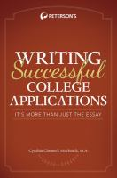 Writing Successful College Applications