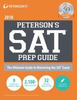 Peterson's SAT Prep Guide