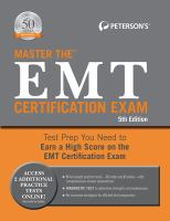 Master the EMT Certification Exam
