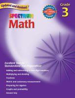 Spectrum Math, Grade 3