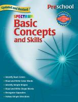 Spectrum Basic Concepts and Skills