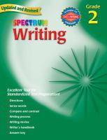 Spectrum Writing, Grade 2