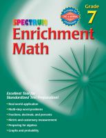 Spectrum Enrichment Math