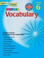 Spectrum Vocabulary