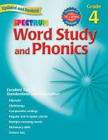 Spectrum Word Study and Phonics