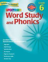 Spectrum Word Study and Phonics