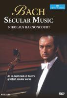 Bach, Secular Music
