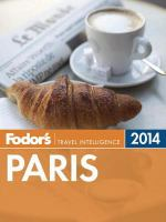 Fodor's 2014 Paris
