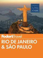 Fodor's Rio De Janeiro & Sao Paulo 2014
