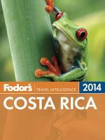 Fodor's Costa Rica 2014