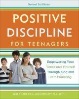 Positive Discipline for Teenagers