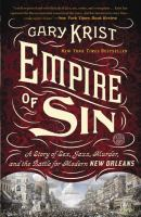 Cover of Empire of Sin: A Story of