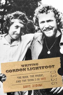 Cover image for Writing Gordon Lightfoot