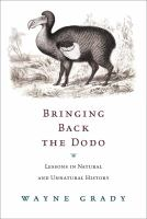 Bringing Back the Dodo