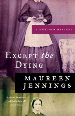 Cover image for Except the Dying