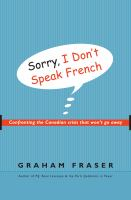 Sorry, I Don't Speak French