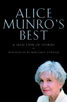 Alice Munro's Best Selected Stories