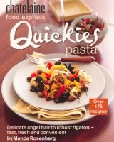 Quickies Pasta