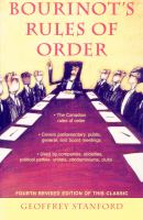 Bourinot's Rules of Order