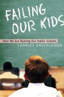 Failing Our Kids