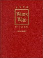 Who's Who in Canada