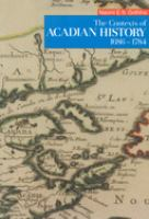 The Contexts of Acadian History, 1686-1784