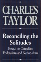 Reconciling the Solitudes