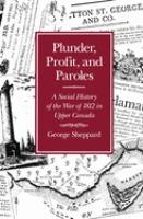 Plunder, Profit, and Paroles
