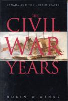 The Civil War Years