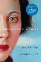 Media Cover for Journey with no maps : a life of P.K. Page