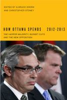 How Ottawa Spends, 2012-2013