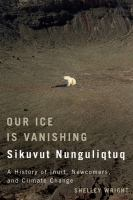 Our Ice Is Vanishing