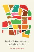 Local Self-government and the Right of the City