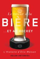 Le retour à la bière ... et au hockey