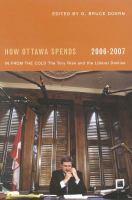 How Ottawa Spends, 2006-2007