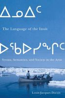The Language of the Inuit