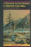 A Pioneer Gentlewoman in British Columbia