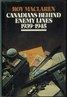 Canadians Behind Enemy Lines, 1939-1945