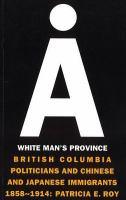 A White Man's Province