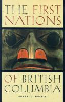 First Nations of British Columbia: An Anthropological Survey