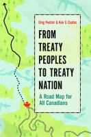 From treaty peoples to treaty nation : a road map for all Canadians