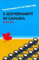 E-Government in Canada