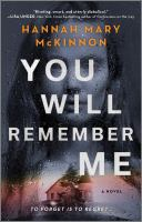 You Will Remember Me