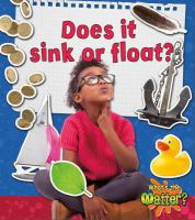 Does It Sink or Float?